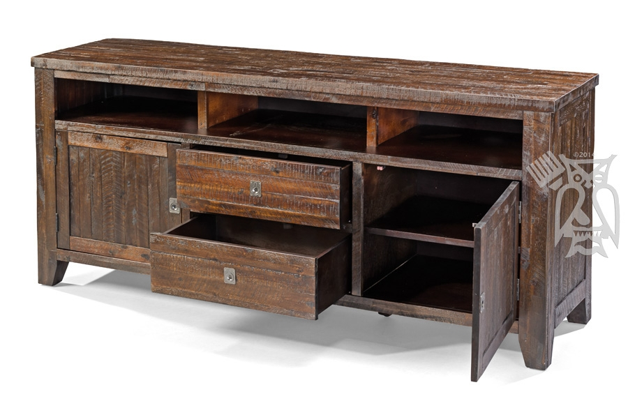 Awesome Popular Dark Wood TV Stands For Hoot Judkins Furnituresan Franciscosan Josebay Areajofran (Image 7 of 50)