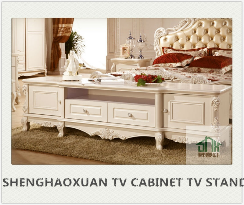 Awesome Popular French TV Cabinets Pertaining To French Style Hb 2001 Wooden Tv Cabinet Designs Tv Lcd Wooden (Image 6 of 50)