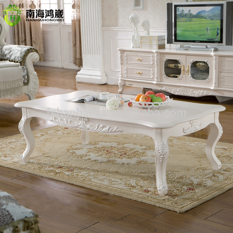 Awesome Popular French White Coffee Tables Within French Style Coffee Table Furniture Coffee Addicts (View 5 of 50)