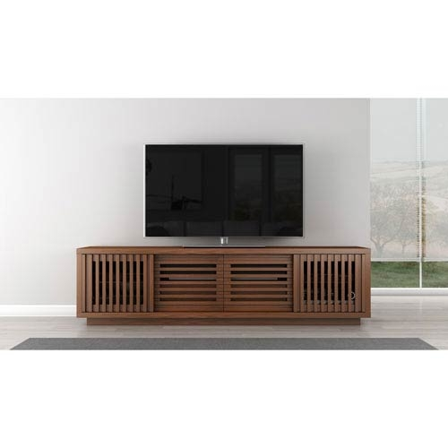 Awesome Popular Honey Oak TV Stands For Signature Contemporary Rustic 82 Inch Warm Honey Finished White (Image 11 of 50)