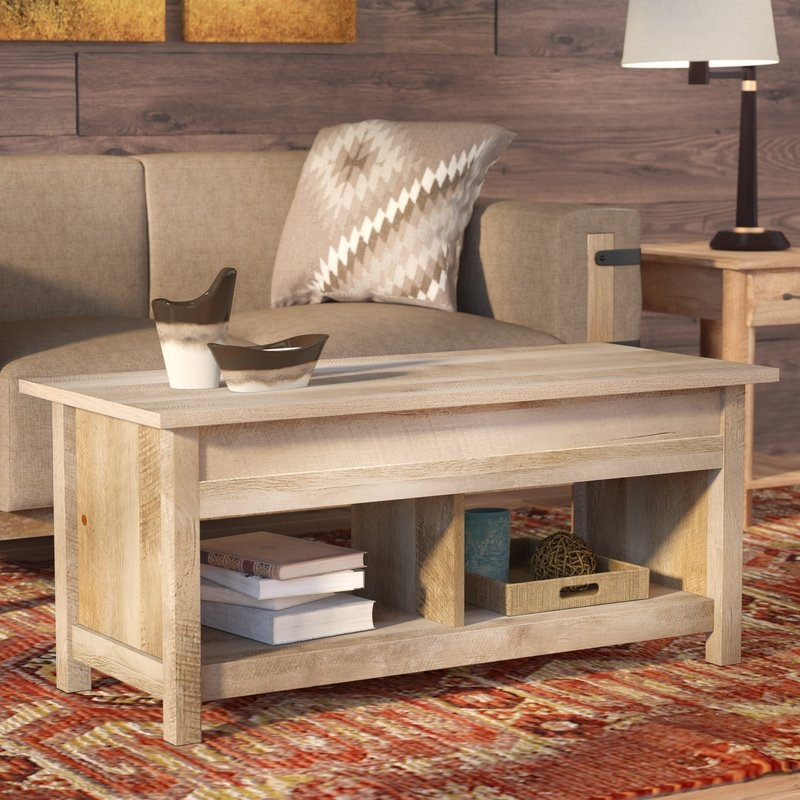Awesome Popular Large Low Level Coffee Tables Intended For Rectangle Coffee Tables Coffee Tables Wayfair (View 40 of 50)