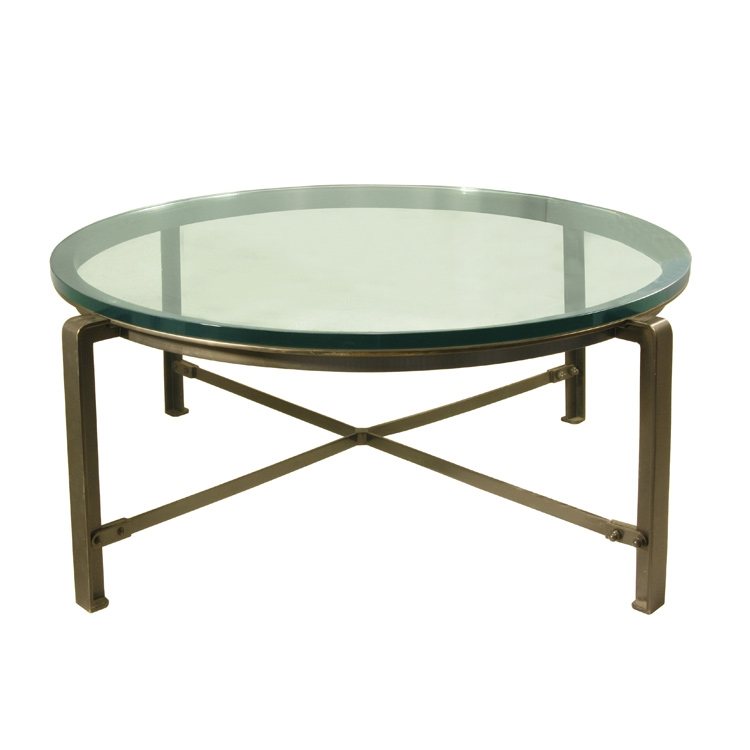 Awesome Popular Metal Coffee Tables With Glass Top For Adorable Round Glass Top Coffee Table Coffee Tables Design Round (Image 6 of 50)