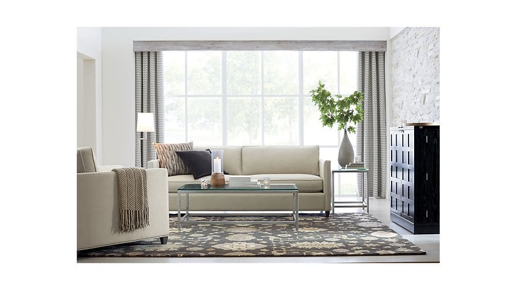 Awesome Popular Rectangle Glass Coffee Table For Era Rectangular Glass Coffee Table Crate And Barrel (View 48 of 50)
