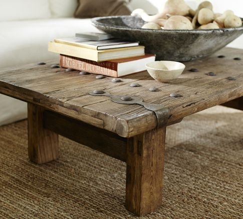 Awesome Popular Rustic Barnwood Coffee Tables Inside Best 20 Door Coffee Tables Ideas On Pinterest Door Table Old (View 33 of 50)