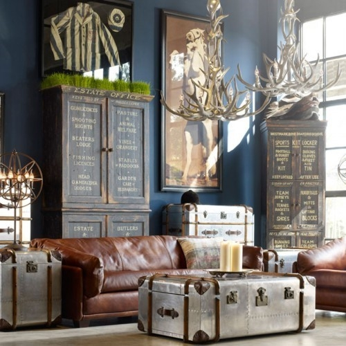 Awesome Popular Silver Trunk Coffee Tables Regarding 5 Clever Ways To Blend The Old With The New Renotalk (Image 10 of 40)