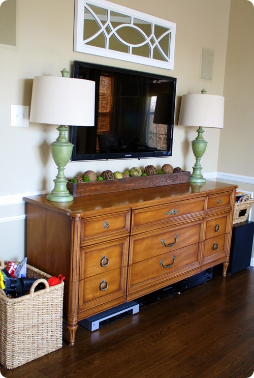 Awesome Popular Small TV Stands For Top Of Dresser With Regard To Tv Stands Interesting Dresser As Tv Stand 2017 Design Dresser As (View 46 of 50)