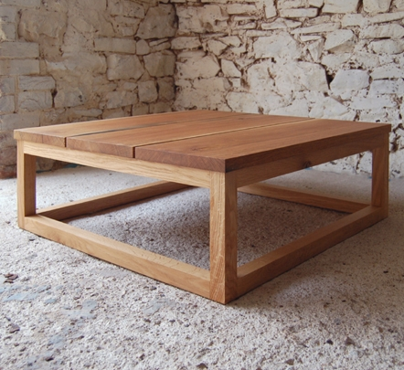 Awesome Popular Square Oak Coffee Tables Pertaining To Pacha Design Handmade Contemporary Furniture Accessories (View 7 of 50)