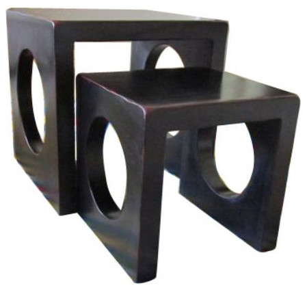 Awesome Popular Stackable Coffee Tables For Stackable Nesting Tables 700 Est Retail 250 On Chairish (Image 4 of 50)
