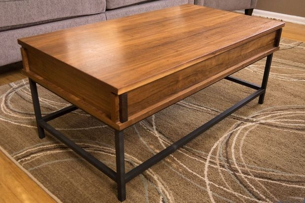 Awesome Popular Top Lifting Coffee Tables In How To Make A Coffee Table With Lift Top 18 Steps With Pictures (Image 6 of 48)
