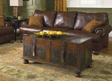 Awesome Popular Trunk Chest Coffee Tables In Square Storage Trunk Coffee Table Coffee Tables Jericho Mafjar (View 26 of 50)