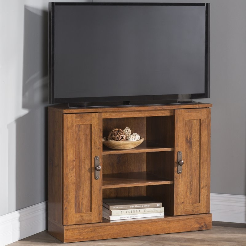 Awesome Popular TV Stands For Corners Regarding Shop 149 Corner Tv Stands (Image 3 of 50)