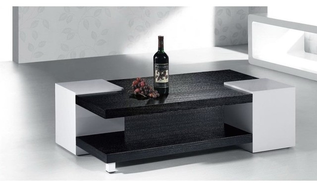 Awesome Popular White And Black Coffee Tables With Black And White Coffee Table Facil Furniture (Image 9 of 40)