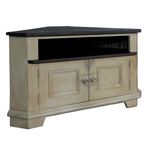 Awesome Popular White Wood Corner TV Stands Inside Best 25 Corner Tv Table Ideas On Pinterest Corner Tv Tv Stand (Image 9 of 50)