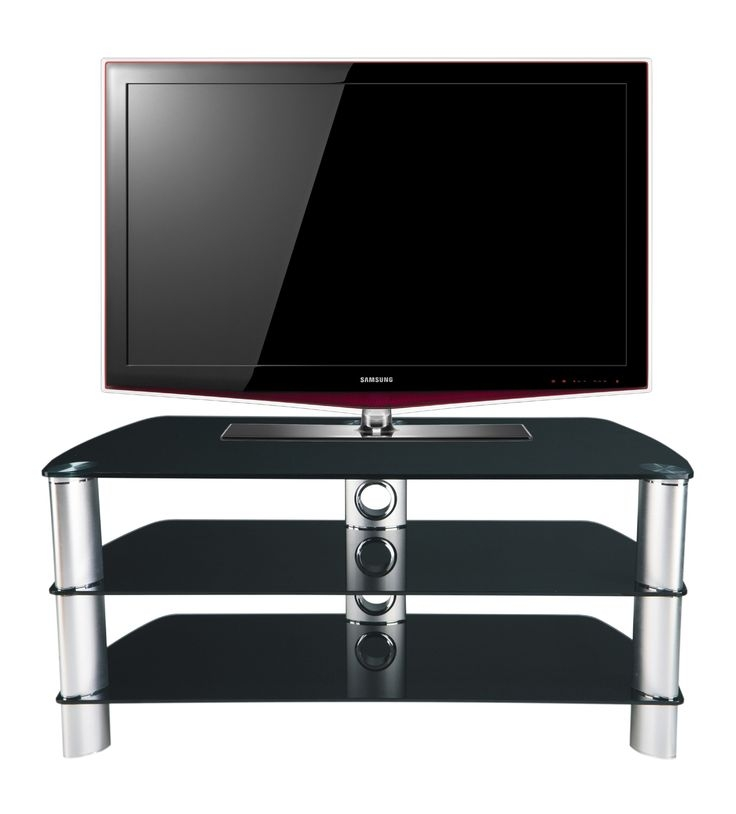 Awesome Preferred Black Oval TV Stands With Regard To Best 25 Black Glass Tv Stand Ideas On Pinterest Penthouse Tv (Image 8 of 50)
