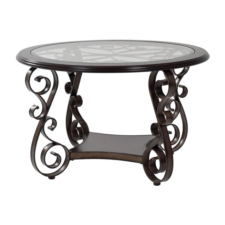 Awesome Preferred Bombay Coffee Tables Throughout Bombay Round Dining Table El Dorado Furniture (View 23 of 50)