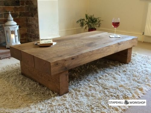 Awesome Preferred Chunky Wood Coffee Tables In Best 10 Reclaimed Wood Coffee Table Ideas On Pinterest Pine (Image 7 of 50)