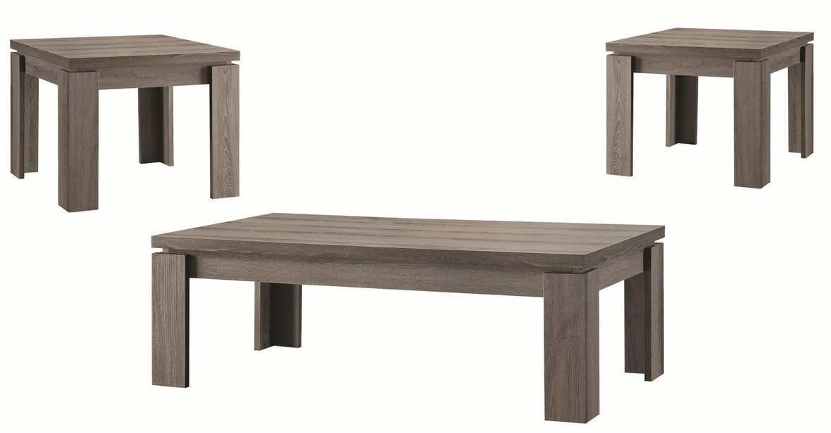 Awesome Preferred Grey Coffee Table Sets For Grey Wood Coffee Table Set Steal A Sofa Furniture Outlet Los (Image 11 of 50)