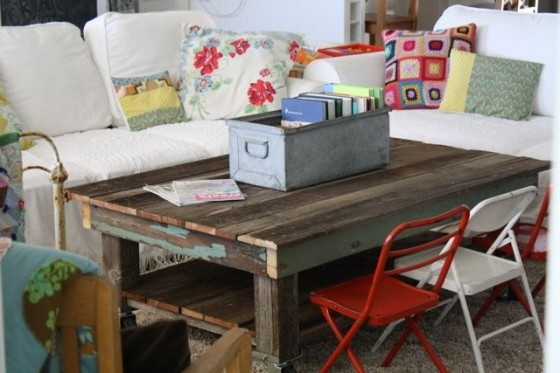 Awesome Preferred Kids Coffee Tables For Reclaimed Wood Coffee Table A Little Rearranging The (Image 8 of 50)