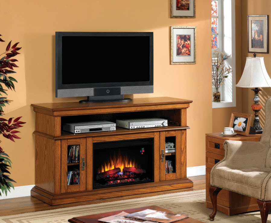 Awesome Preferred Rustic 60 Inch TV Stands Inside Rustic Electric Fireplaces I Portable Fireplace (Image 5 of 50)