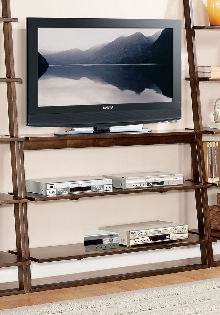 Awesome Preferred TV Stands For Small Spaces Intended For Diy Thin Tv Stand Made From Wood For Small Living Spaces Ideas (Image 8 of 50)