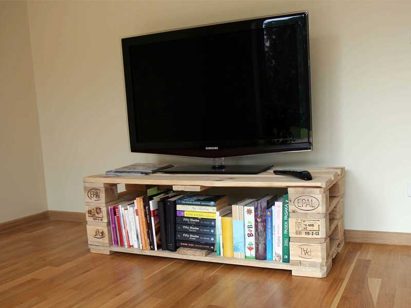 Awesome Preferred TV Stands With Baskets Pertaining To 50 Creative Diy Tv Stand Ideas For Your Room Interior Diy (Image 6 of 50)