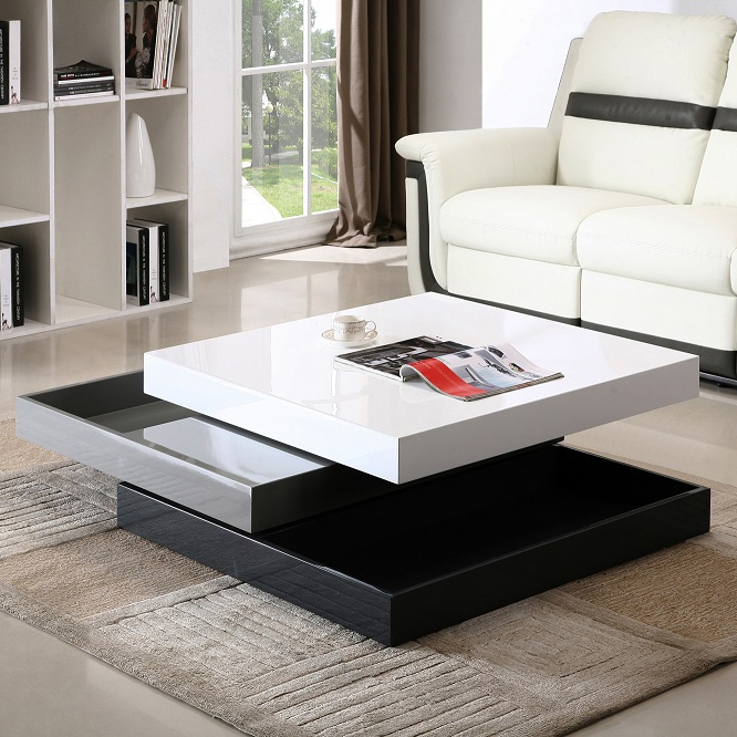 Awesome Premium Coffee Tables White High Gloss For Jm Furniture Modern Coffee Table Cw01 In White High Gloss Grey (Image 6 of 40)