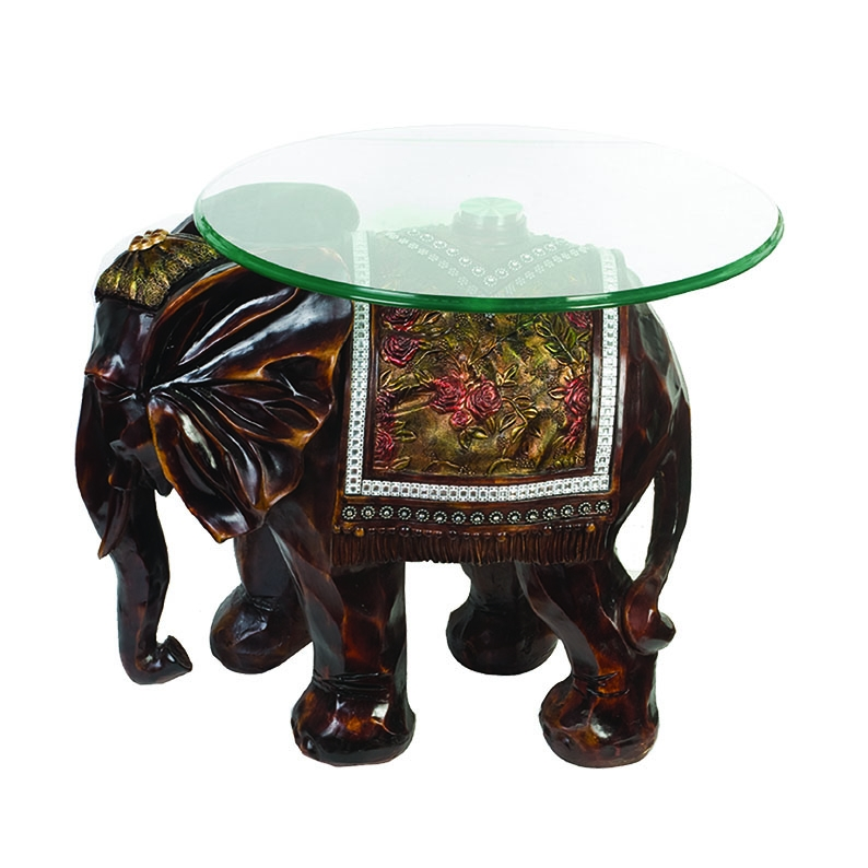 Awesome Premium Elephant Glass Coffee Tables Pertaining To Elephant Table Elephant Table Suppliers And Manufacturers At (Image 7 of 40)