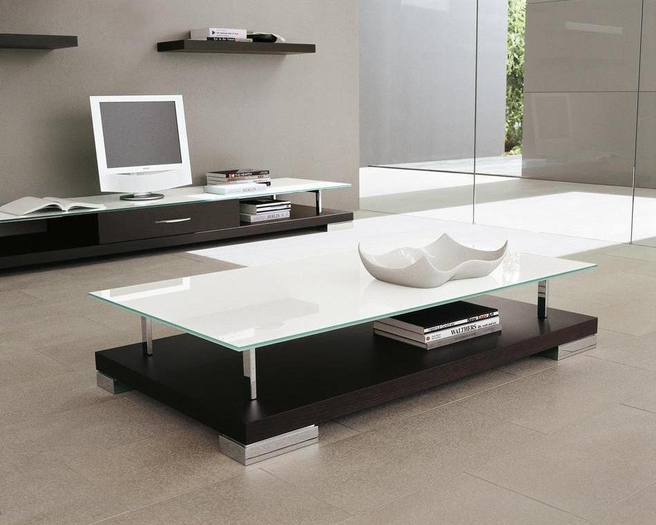 Awesome Premium Floating Glass Coffee Tables Intended For Exquisite Glass Coffee Tables Presenting Cool Accessory For All (Image 5 of 50)