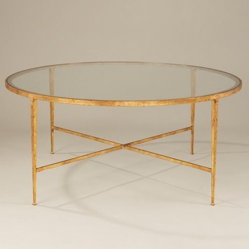 Awesome Premium Glass Gold Coffee Tables Throughout Glass Gold Coffee Table (View 26 of 50)