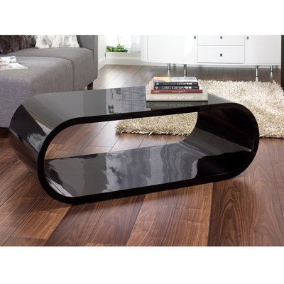 Awesome Premium Gloss Coffee Tables For Coffee Table Black (Image 9 of 50)