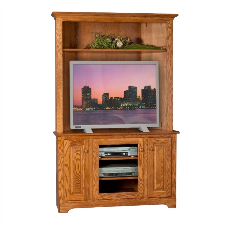 Awesome Premium Lane TV Stands In Corner Tv Stand Hutch Amish Corner Tv Stand Hutch Country (View 43 of 50)