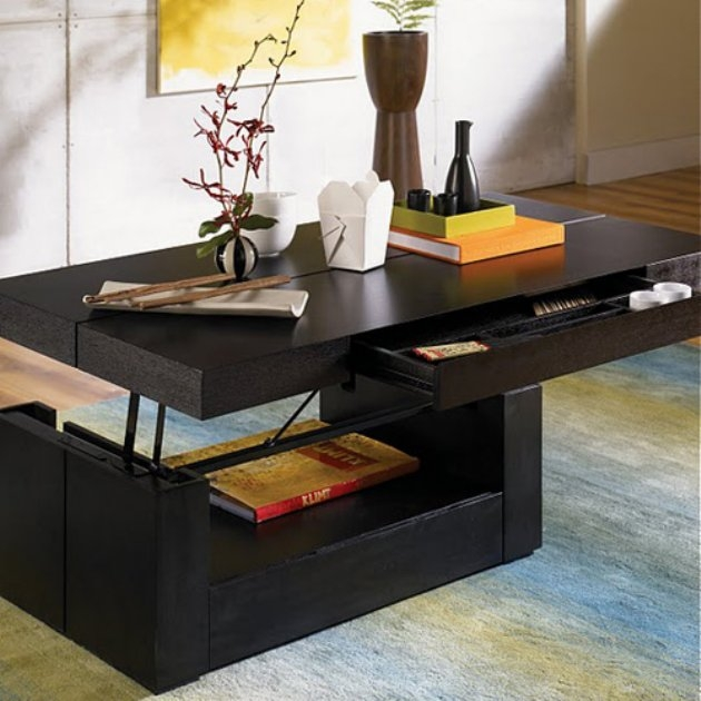 Awesome Premium Lift Up Top Coffee Tables With Regard To Stunning Raising Coffee Table How To Make A Coffee Table With Lift (Image 3 of 40)