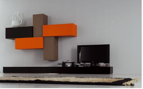 Awesome Premium Modern Design TV Cabinets Regarding Modern Wall Mounted Tv Cabinet For Living Room Decoration (Image 6 of 50)