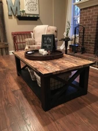 Awesome Premium Rustic Style Coffee Tables Intended For Best 20 Coffee Table Decorations Ideas On Pinterest Coffee (View 16 of 50)