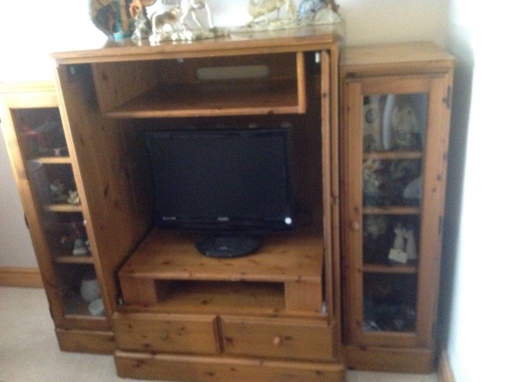 Awesome Premium Solid Pine TV Cabinets In Solid Pine Tv Cabinet In Leigh Manchester Gumtree (Image 6 of 50)