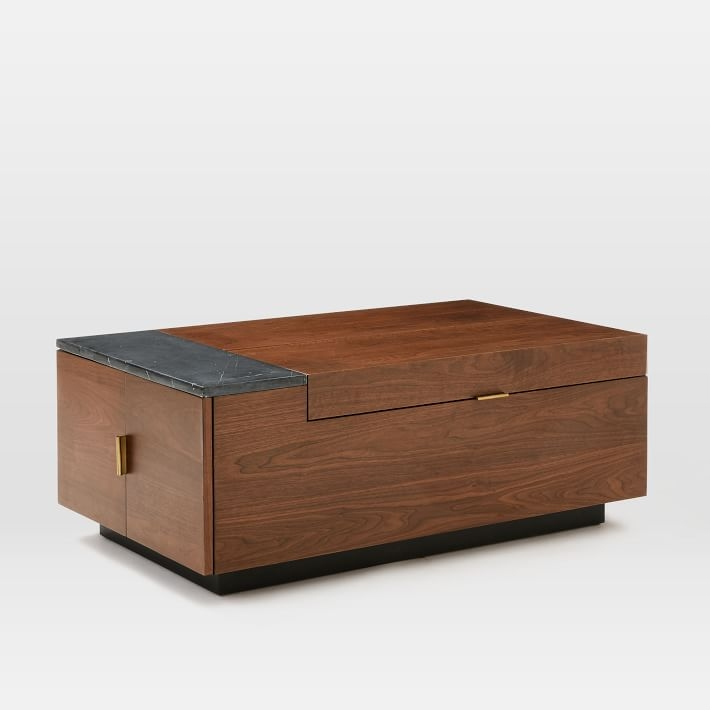 Awesome Premium Storage Coffee Tables In Hyde Storage Coffee Table West Elm (View 36 of 50)