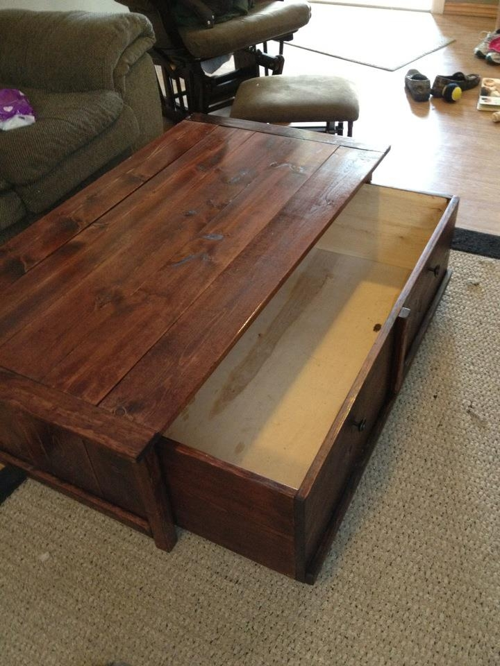 Awesome Premium Storage Coffee Tables Intended For Rustic Storage Coffee Table (View 49 of 50)