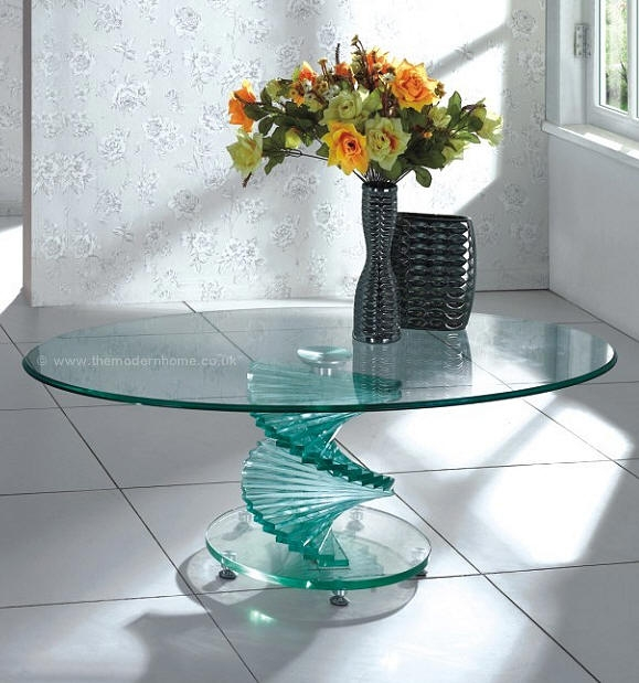 Awesome Premium Swirl Glass Coffee Tables For Swirl Coffee Table 22900 With Free Delivery (Image 10 of 50)