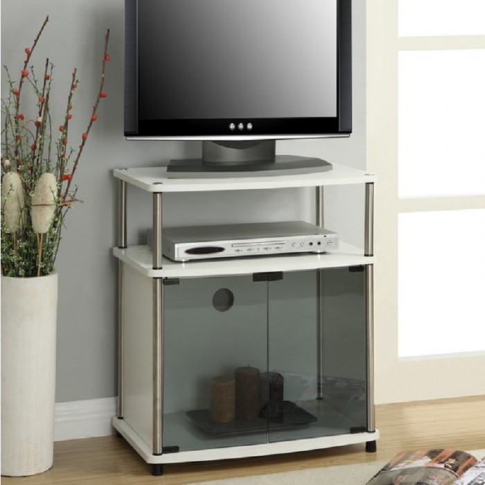 Awesome Premium TV Stands For Small Spaces Throughout Tv Stands Space Saving Tv Stand Small Design Remarkable Space (Image 9 of 50)