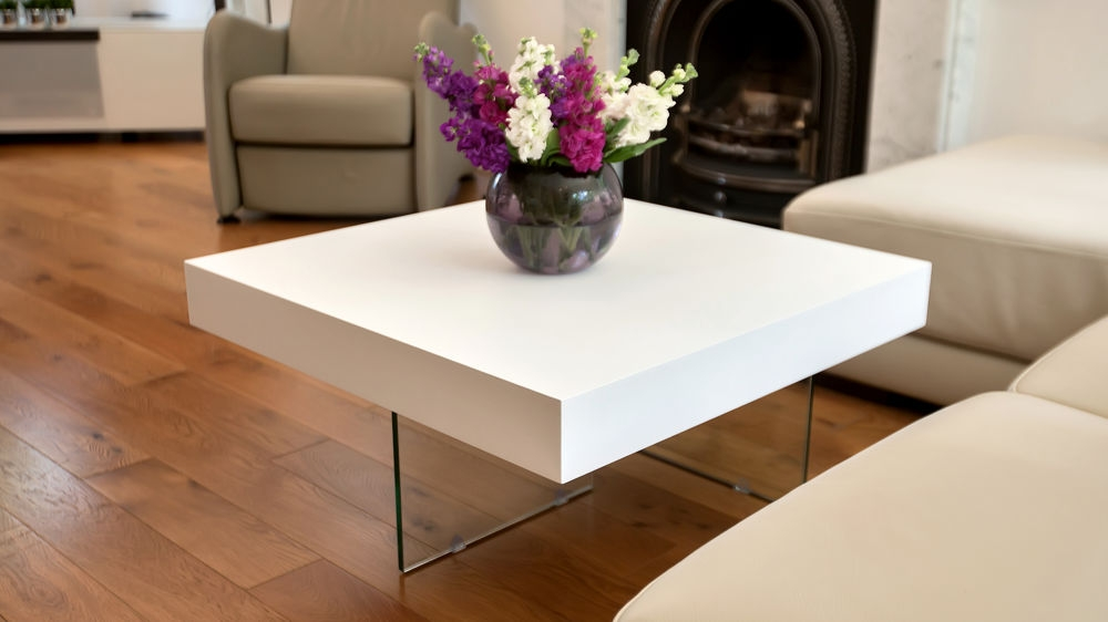 Awesome Premium White And Oak Coffee Tables In Small White Coffee Table (Image 6 of 50)