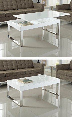 Awesome Premium White Gloss Coffee Tables Inside White Gloss Coffee Table Foter (Image 6 of 50)