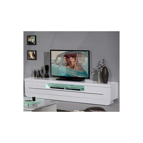 Awesome Premium White Gloss TV Stands In Modo White Gloss Tv Stand Tv Stands Sena Home Furniture (Image 7 of 50)