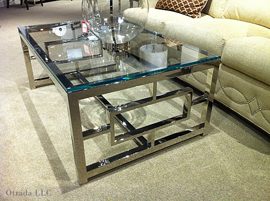 Awesome Premium Wood Chrome Coffee Tables In Living Room Best Boston Chrome Glass Criss Cross Coffee Table (Image 10 of 40)