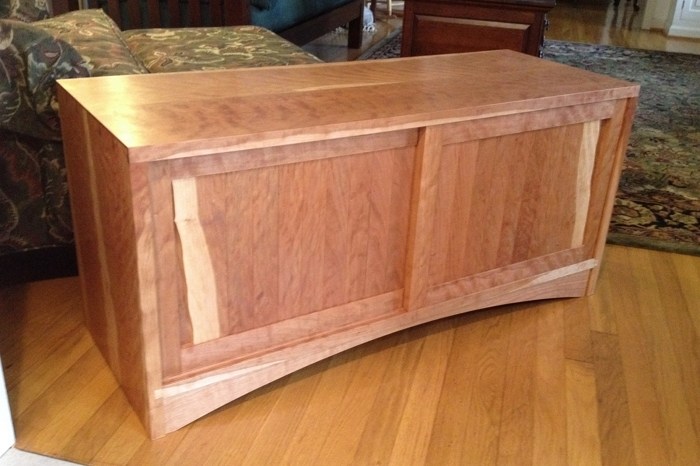 Awesome Series Of Cherry Wood TV Cabinets Pertaining To Building A Cherry Tv Cabinet With Hand Tools Part I (View 29 of 50)