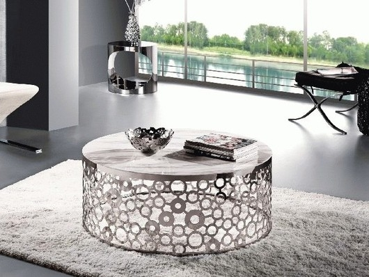 Awesome Series Of Circle Coffee Tables With Circle Coffee Table (Image 6 of 50)