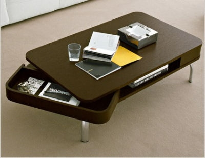Awesome Series Of Coffee Tables With Rounded Corners With Regard To Retro Coffee Table Calligaris Retro To Go (View 9 of 50)