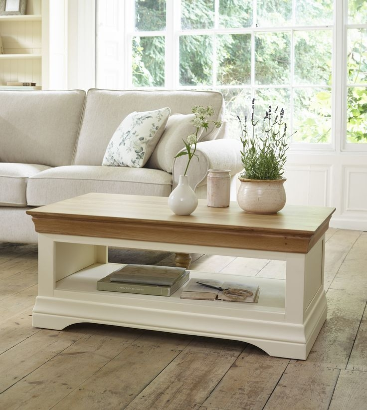 Awesome Series Of Cream And Oak Coffee Tables Intended For Best 10 Cream Furniture Ideas On Pinterest Cream Living Room (Image 7 of 40)