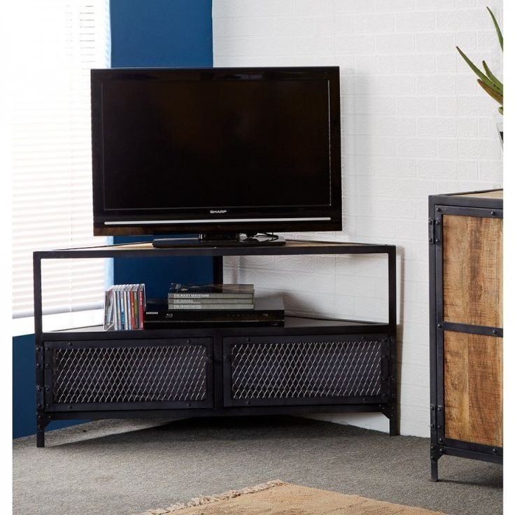 Awesome Series Of Industrial Corner TV Stands With Regard To 26 Best Tv Stand Images On Pinterest Tv Stands Tv Units And Tv (Image 9 of 50)