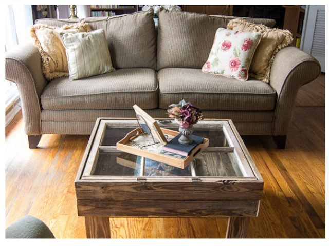 Awesome Series Of Rustic Wood DIY Coffee Tables With 10 Diy Coffee Tables How To Make A Coffee Table (Image 8 of 50)