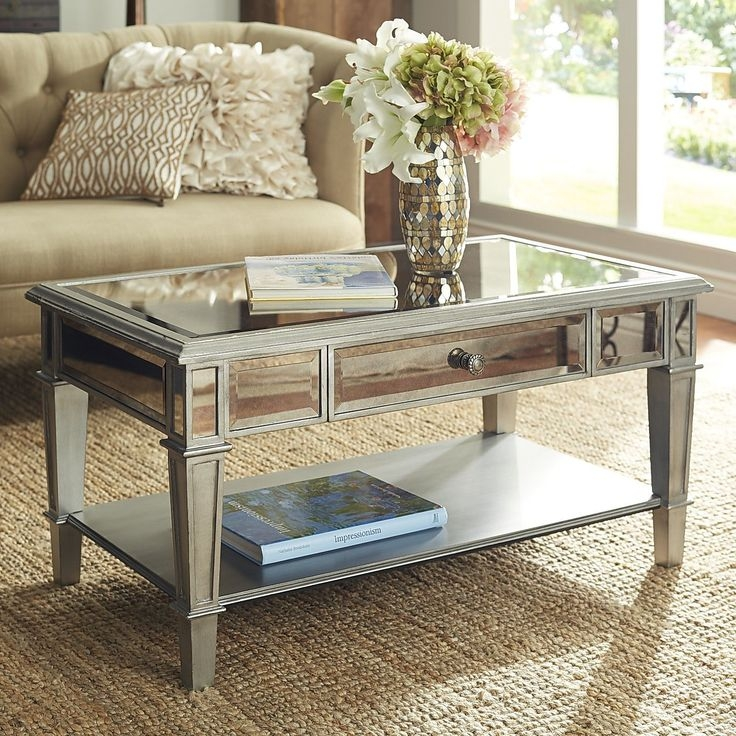 Awesome Series Of Small Mirrored Coffee Tables Pertaining To Best 20 Mirrored Coffee Tables Ideas On Pinterest Home Living (View 6 of 50)